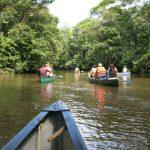 Kano tour in Amazone Ecuador