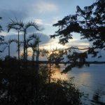 Zonsondergang in Cuyabeno Amazone tour