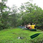 Kano tour in Amazon Regenwoud Ecuador
