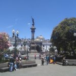 Plaza de independencia in Quito Ecuador reizen