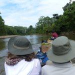Waorani kano peddel tour in Amazone van Ecuador