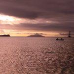 Zonsondergang op de Galapagos