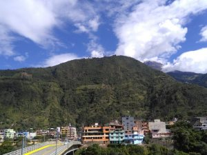 Baños Tungurahua vulkaan veiligheid tijdens Ecuador reis
