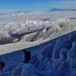 Uitzicht Chimborazo Vulkaan