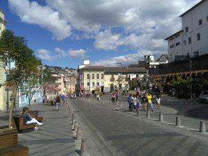 Stadstour in Quito Ecuador