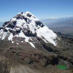 illiniza Sur bergbeklimmen in Ecuador